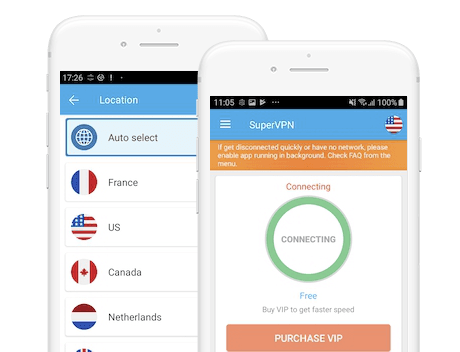 SuperVPN Free VPN Client screenshot