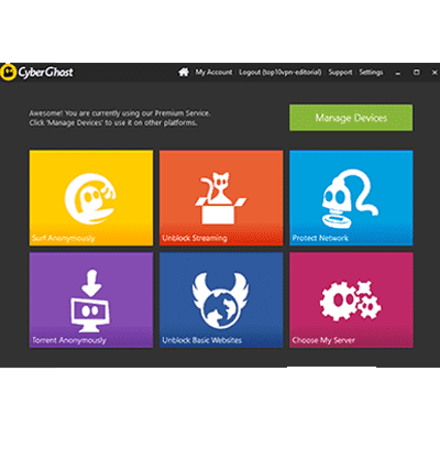 Cyberghost Review 2018 Should You Use Cyberghost Top10vpn