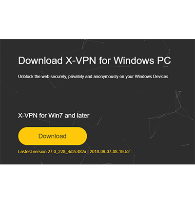 x-vpn for windows