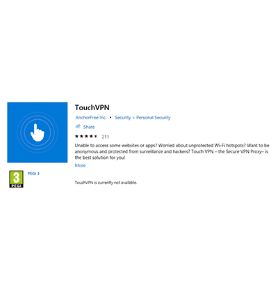 Touch VPN Review: Why Is It Ranked #88 Out of 99 VPNs?