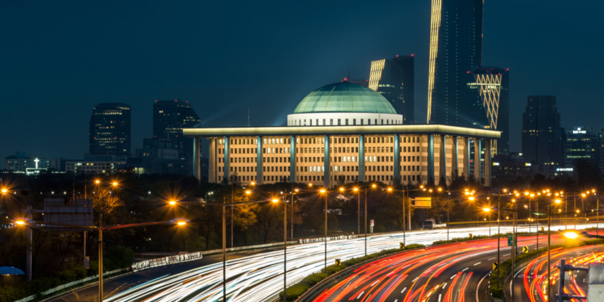 The Korean Assembly building in Seoul