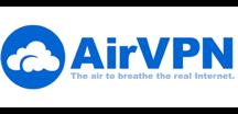 AirVPN landscape logo