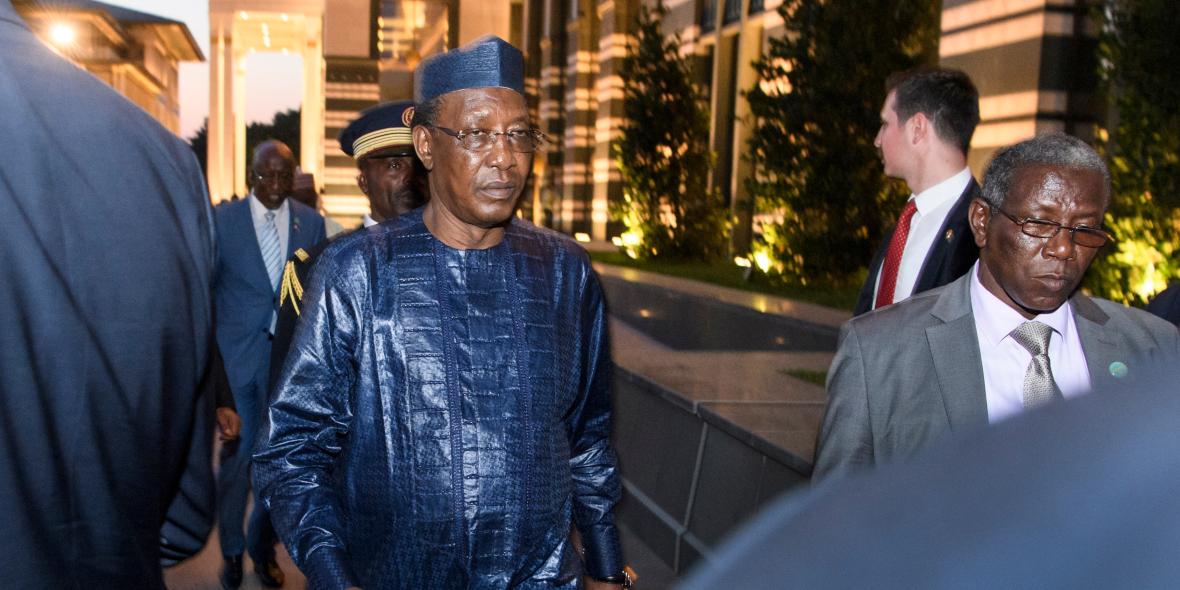 Chad President Idris Déby