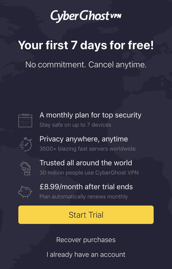 best free trial vpn for android