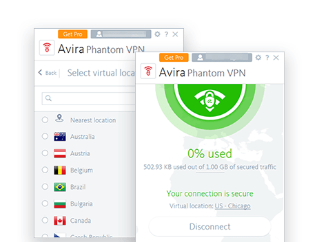 Avira Phantom Free screenshot