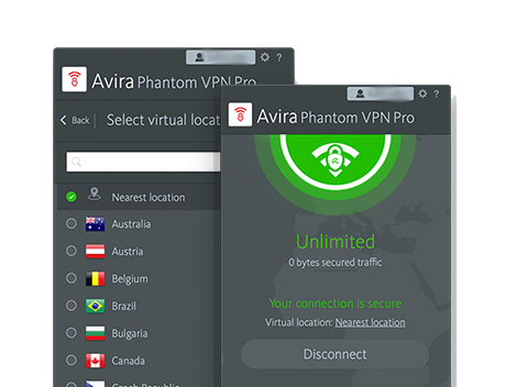 Avira Phantom screenshot