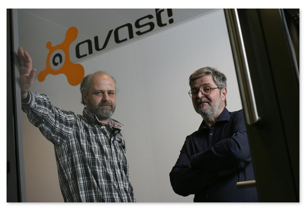 Photo of Avast Founders Eduard Kučera and Pavel Baudiš