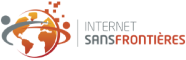 Logo with Internet Sans Frontieres (Internet Without Borders)