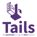Logo of Tails Live Operating System