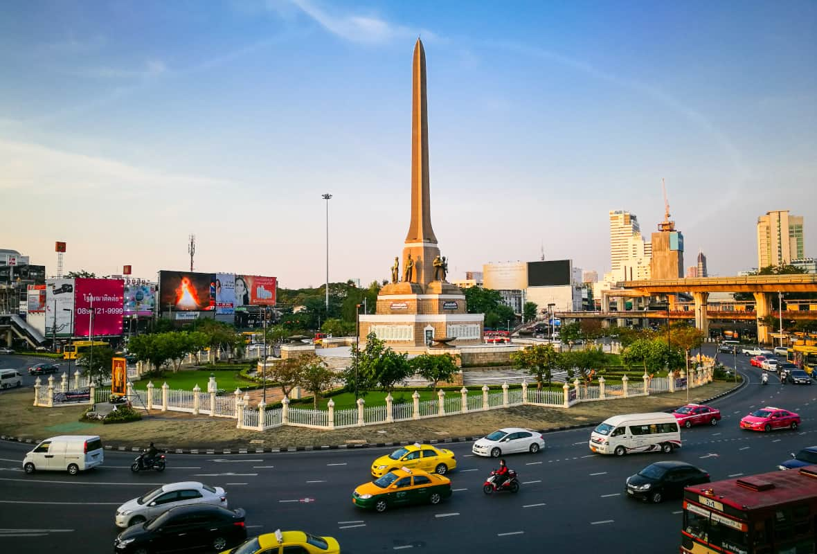 Photo of the Victory Monument in Bangkok