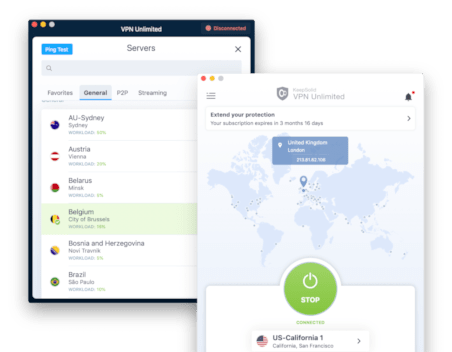 KeepSolid VPN Unlimited screenshot