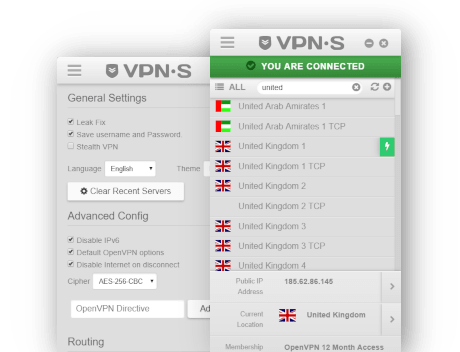 VPNSecure screenshot