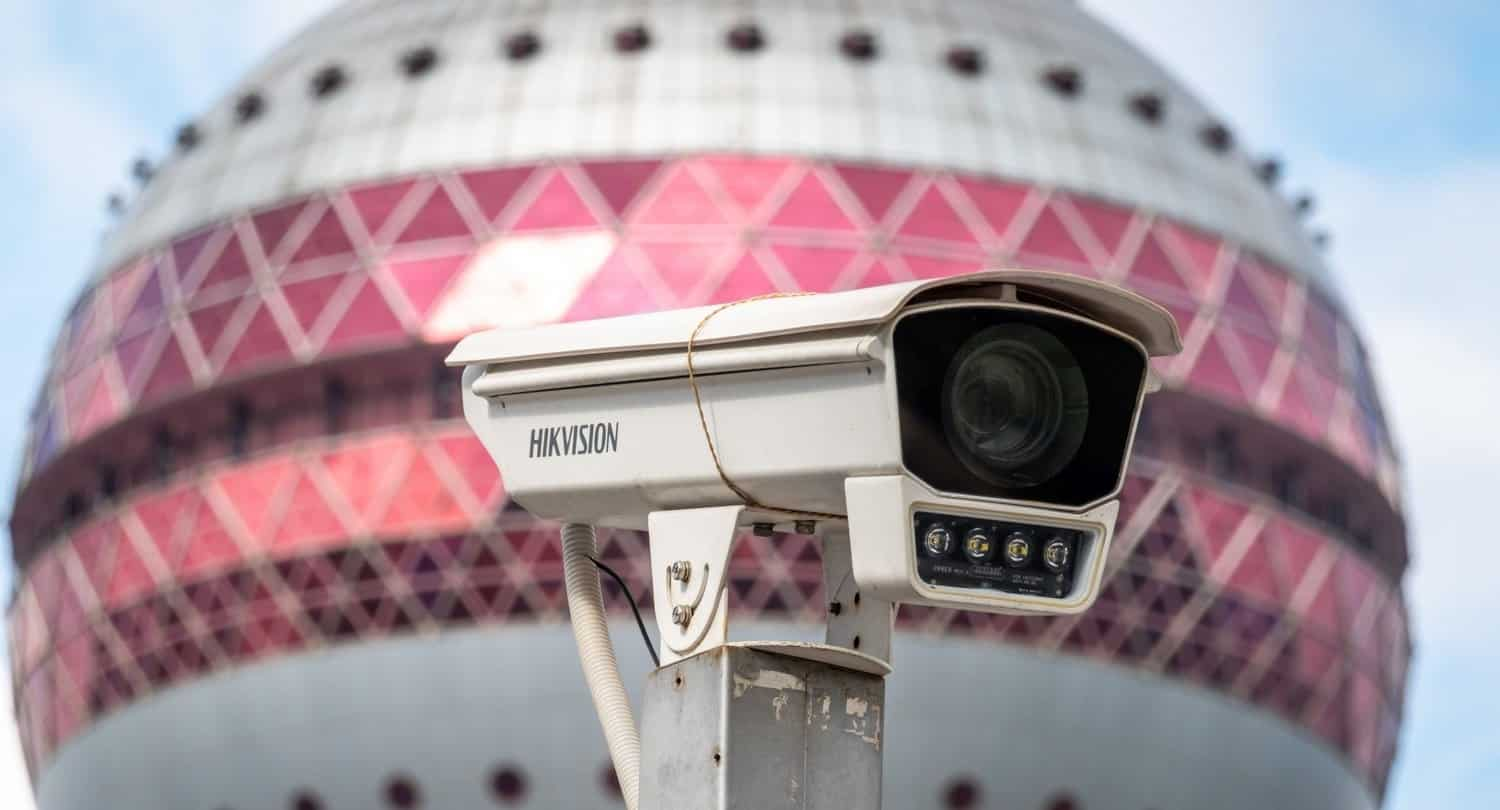 Hikvision camera in China